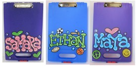 Personalized Clipboard Cases for Camp
